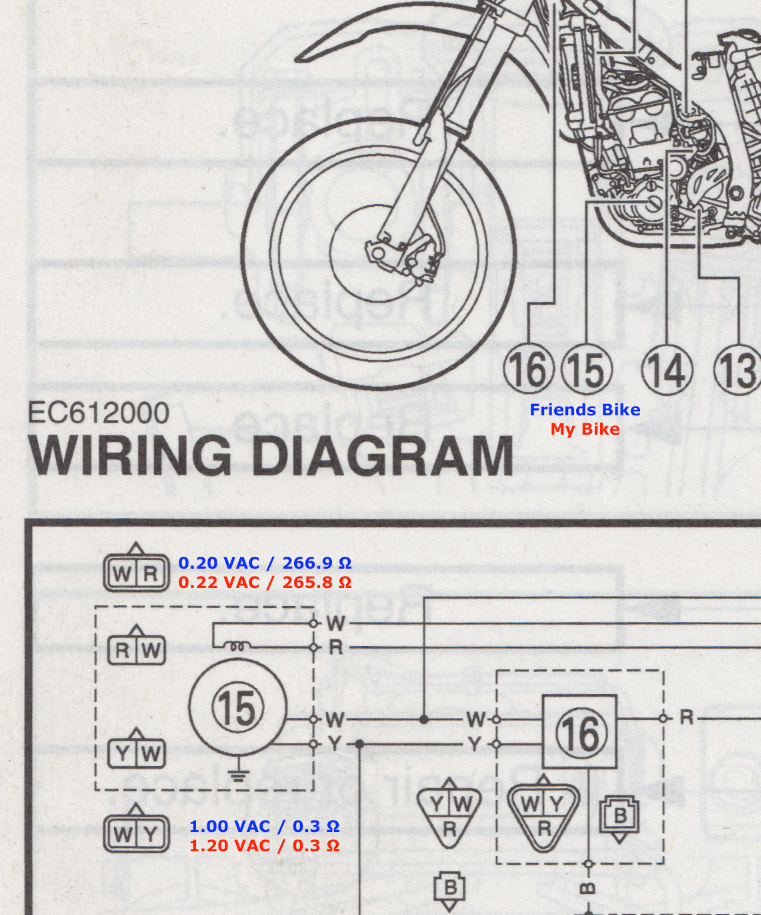 Wiring Alternator in addition Yamaha Wr450f Wiring Diagram together with Vw b3 1993 wiring cooling fan further 1z p 1993 Jeep Fuel Pump Not Working besides HP PartList. on 2005 jeep wrangler wiring diagram